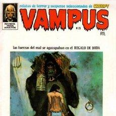 Tebeos: VAMPUS - Nº 25 -REED CRANDALL-AURALEÓN-BROCAL REMOHÍ-MIKE PLOOG-1973-DIFÍCIL- CORRECTO-LEAN-3927. Lote 222224640