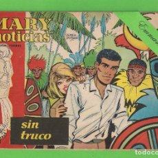 Tebeos: MARY ''NOTICIAS'' - Nº 31 - SIN TRUCO - (1963) - COLECCIÓN HEROÍNAS - IBERO.. Lote 129721819