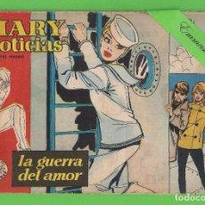 Tebeos: MARY ''NOTICIAS'' - Nº 41 - LA GUERRA DEL AMOR - (1963) - COLECCIÓN HEROÍNAS - IBERO.. Lote 129725555