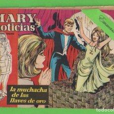 Tebeos: MARY ''NOTICIAS'' - Nº 54 - LA MUCHACHA DE LAS LLAVES DE ORO - (1963) - COLECCIÓN HEROÍNAS - IBERO.. Lote 129729683