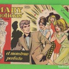Tebeos: MARY ''NOTICIAS'' - Nº 57 - EL MONSTRUO PERFECTO - (1963) - COLECCIÓN HEROÍNAS - IBERO.. Lote 129730319