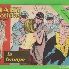 Tebeos: MARY ''NOTICIAS'' - Nº 66 - LA TRAMPA - (1963) - COLECCIÓN HEROÍNAS - IBERO.. Lote 129732011