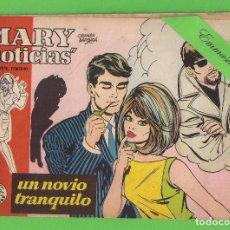 Tebeos: MARY ''NOTICIAS'' - Nº 70 - UN NOVIO TRANQUILO - (1963) - COLECCIÓN HEROÍNAS - IBERO.. Lote 129733027