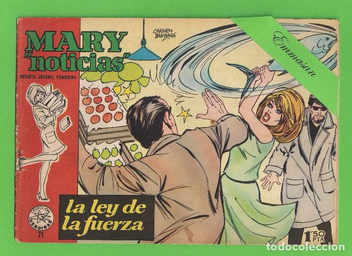 MARY ''NOTICIAS'' - Nº 71 - LA LEY DE LA FUERZA - (1963) - COLECCIÓN HEROÍNAS - IBERO. (Tebeos y Comics - Ibero Mundial)
