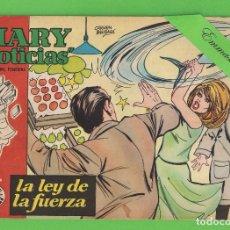 Tebeos: MARY ''NOTICIAS'' - Nº 71 - LA LEY DE LA FUERZA - (1963) - COLECCIÓN HEROÍNAS - IBERO.. Lote 129733307