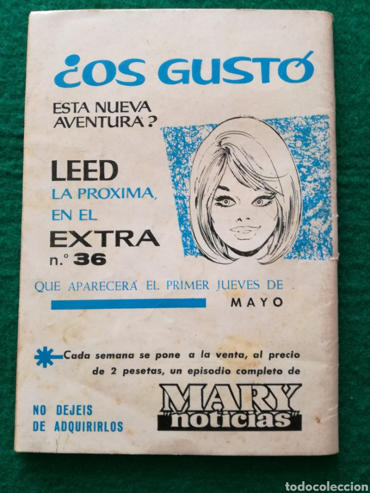 Tebeos: MARY NOTICIAS n°35 - Foto 3 - 130326346