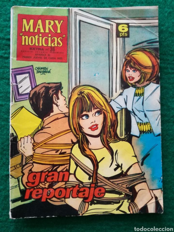MARY NOTICIAS N°36 (Tebeos y Comics - Ibero Mundial)