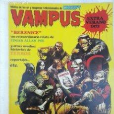 Tebeos: VAMPUS EXTRA VERNO 1972, MUY DIFICIL Y MUY BUEN ESTADO. Lote 135849090