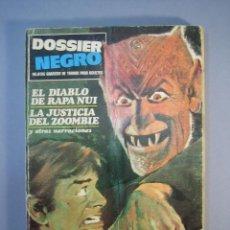 Livros de Banda Desenhada: DOSSIER NEGRO (1968, IMDE / DELTA / ZINCO) 8 · 1968 · EL DIABLO DE RAPA NUI. Lote 136271418