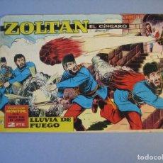 Tebeos: ZOLTAN EL CINGARO (1963, IMDE) 47 · 29-XI-1963 · LLUVIA DE FUEGO. Lote 136417346