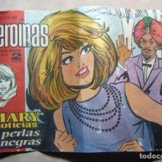 Tebeos: COLECCION HEROINAS Nº 172 MARY NOTICIAS PERLAS NEGRAS ORIGINAL. Lote 137180538