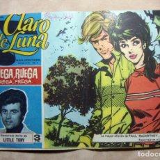 Tebeos: COLECCION CLARO DE LUNA. IBERO MUNDIAL Nº 457 RUEGA, RUEGA ORIGINAL. Lote 137184102