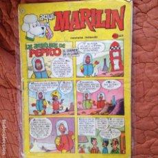 Tebeos: AQUI MARILIN Nº21. Lote 137421530