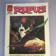 Livros de Banda Desenhada: RUFUS (1973, IMDE / GARBO) 8 · I-1974 · DESTINO DE BRUJA. Lote 138702678