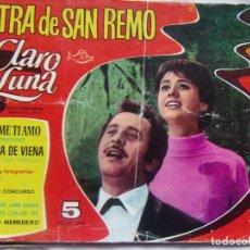 Tebeos: COLECCIÓN CLARO DE LUNA NÚM .94 EXTRA DE SAN REMO AÑO 1966. Lote 141844670