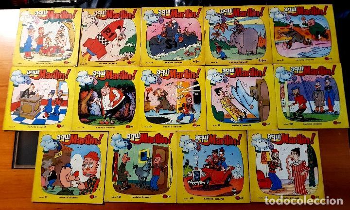 AQUÍ MARILÍN ! (IBERO MUNDIAL DE EDICIONES, 1963) 14 EJEMPLARES DEL 1 AL 15. SÓLO FALTA EL 13. (Tebeos y Comics - Ibero Mundial)
