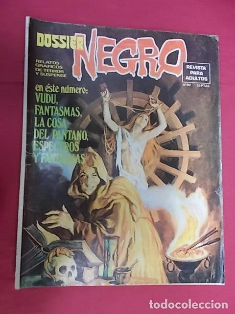 DOSSIER NEGRO. Nº 92. IBERO MUNDIAL (Tebeos y Comics - Ibero Mundial)