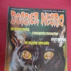Tebeos: DOSSIER NEGRO. Nº 182. IBERO MUNDIAL. Lote 142622654
