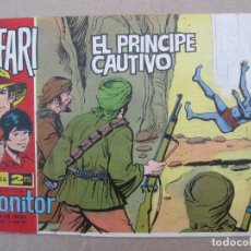 Tebeos: SAFARI , NUMERO 56 , EL PRINCIPE CAUTIVO , IBEERO MUNDIAL 1962 , ORIGINAL , CLAUDIO TINOCO. Lote 142710086