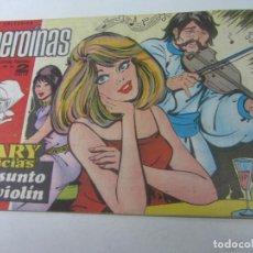 Tebeos: HEROINAS Nº 355 . MARY NOTICIAS . EL ASUNTO DEL VIOLIN. CX01. Lote 142805194