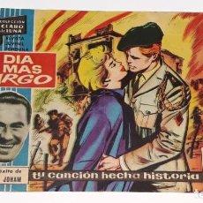 Tebeos: COLECCION CLARO LUNA - REVISTA JUVENIL FEMENINA Nº 180 - EL DIA MAS LARGO - IBERO MUNDIAL AÑO 1962. Lote 142907466