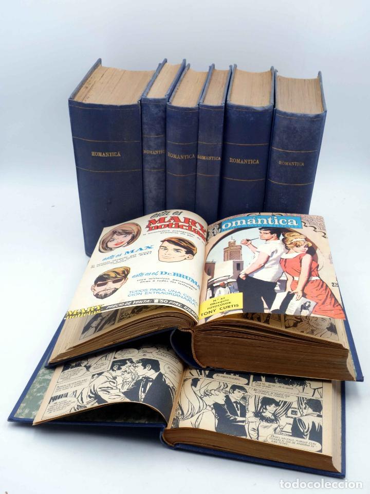 SELECCIÓN ROMÁNTICA. LOTE DE 243 NºS EN 8 TOMOS. VER LISTA (VVAA) IBERO MUNDIAL, 1961. SIN POSTER (Tebeos y Comics - Ibero Mundial)