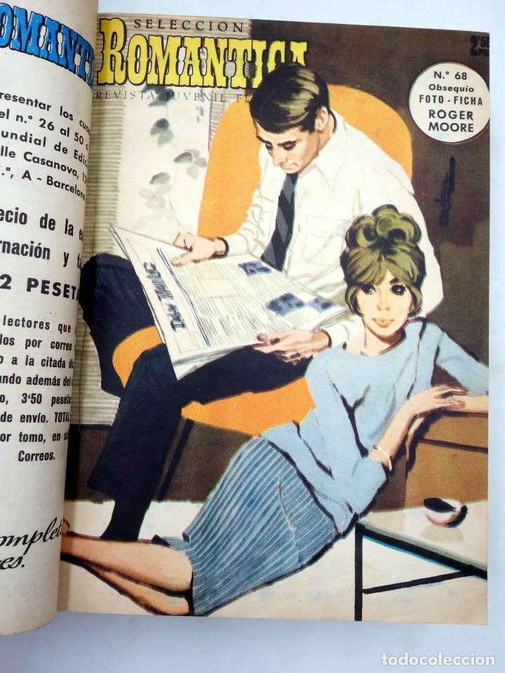 Tebeos: SELECCIÓN ROMÁNTICA. LOTE DE 243 NºS EN 8 TOMOS. VER LISTA (Vvaa) Ibero Mundial, 1961. SIN POSTER - Foto 2 - 143409834