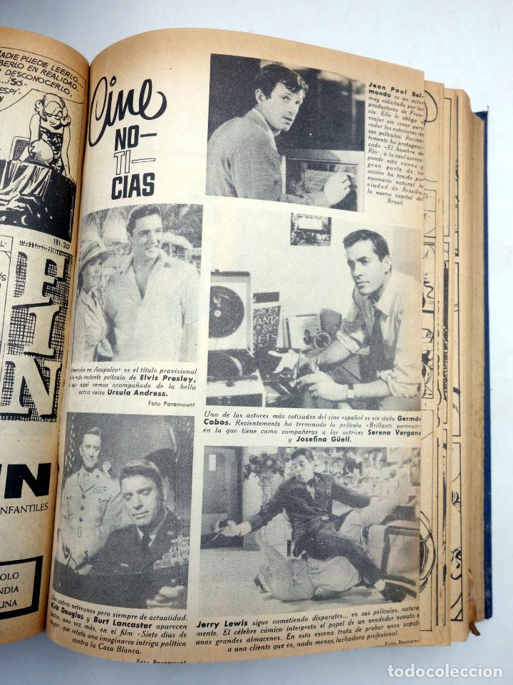 Tebeos: SELECCIÓN ROMÁNTICA. LOTE DE 243 NºS EN 8 TOMOS. VER LISTA (Vvaa) Ibero Mundial, 1961. SIN POSTER - Foto 8 - 143409834