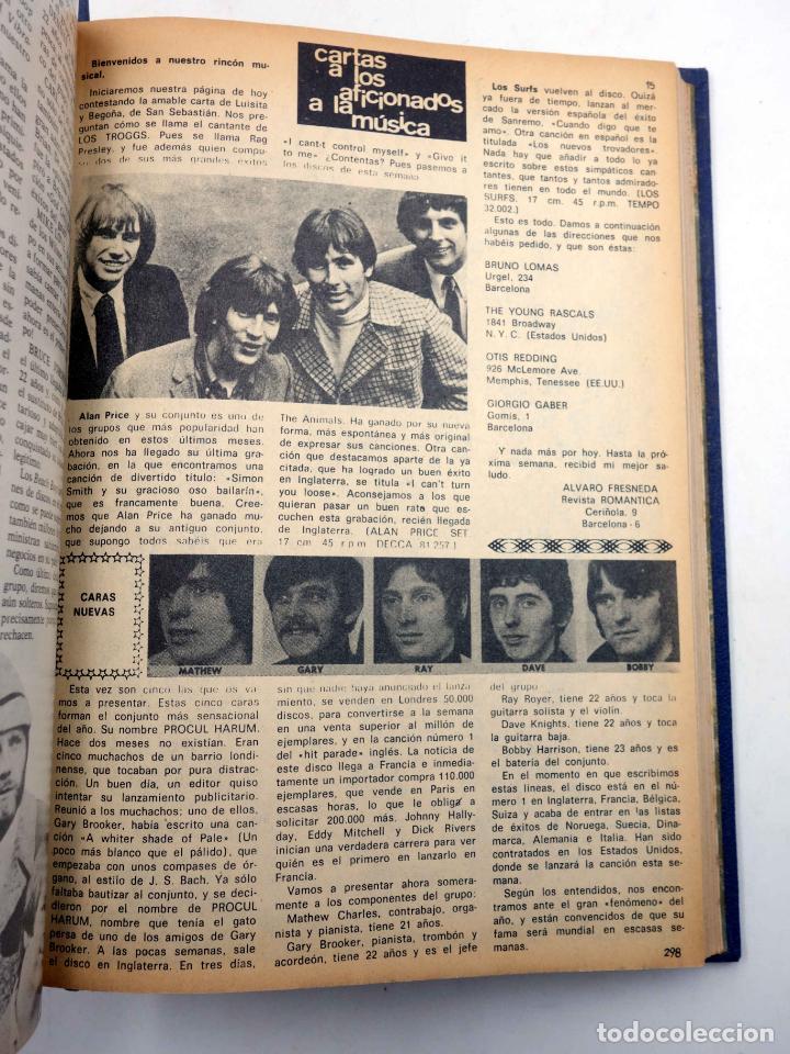 Tebeos: SELECCIÓN ROMÁNTICA. LOTE DE 243 NºS EN 8 TOMOS. VER LISTA (Vvaa) Ibero Mundial, 1961. SIN POSTER - Foto 12 - 143409834