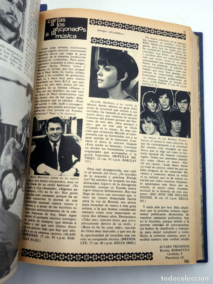 Tebeos: SELECCIÓN ROMÁNTICA. LOTE DE 243 NºS EN 8 TOMOS. VER LISTA (Vvaa) Ibero Mundial, 1961. SIN POSTER - Foto 13 - 143409834