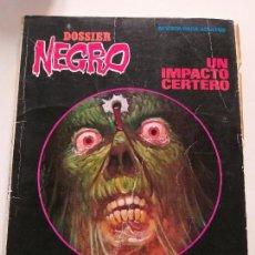 Tebeos: DOSSIER NEGRO - EXTRA Nº 100 (1977) - UN IMPACTO CERTERO - REVISTA PARA ADULTOS. Lote 144215186