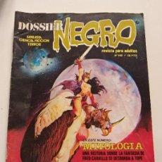Tebeos: COMIC DOSSIER NEGRO - Nº 146 - MITOLOGIA - FRED CARRILLO - RELATOS INEDITOS. Lote 144215470