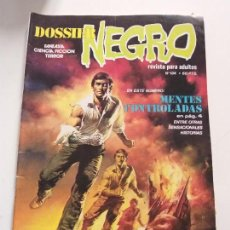 Tebeos: DOSSIER NEGRO Nº 134 (1968, IMDE / DELTA / ZINCO) 1980 - MENTES CONTROLADAS. Lote 144217210