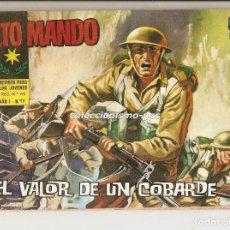 Tebeos: ALTO MANDO Nº 18 TEBEO ORIGINAL 1964 EL VALOR DE UN COBARDE IBERO MUNDIAL DE EDICIONES BUEN ESTADO !. Lote 154090266