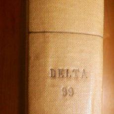Tebeos: COMIC - DELTA 99 - 20 NÚMEROS - DEL Nº 1 AL Nº 20 - ENCUADERNADOS EN TOMO - IBERO MUNDIAL 1968 -. Lote 144747018