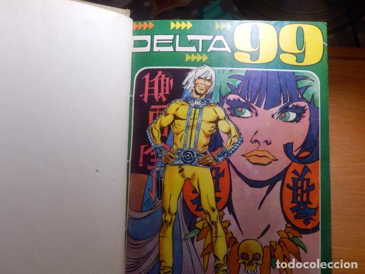 Tebeos: Comic - Delta 99 - 20 números - del Nº 1 al nº 20 - Encuadernados en tomo - Ibero Mundial 1968 - - Foto 3 - 144747018
