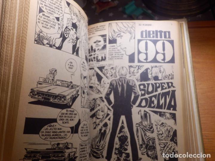 Tebeos: Comic - Delta 99 - 20 números - del Nº 1 al nº 20 - Encuadernados en tomo - Ibero Mundial 1968 - - Foto 4 - 144747018