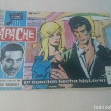 Tebeos: COLECCION CLARO DE LUNA ORIGINAL Nº 135 APACHE. Lote 146213602