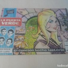 Tebeos: COLECCION CLARO DE LUNA ORIGINAL Nº 55 LA PUERTA VERDE. Lote 146216286
