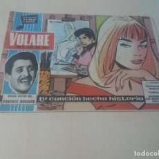 Tebeos: COLECCION CLARO DE LUNA ORIGINAL Nº 49 VOLARE EN EL ZAUL DEL CIELO. Lote 146216738