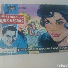 Tebeos: COLECCION CLARO DE LUNA ORIGINAL Nº 43 YO VENDO UNOS OJOS NEGROS. Lote 146217082