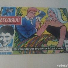Tebeos: COLECCION CLARO DE LUNA ORIGINAL Nº 38 ESCUBIDU SCOUBIDOU. Lote 146217486