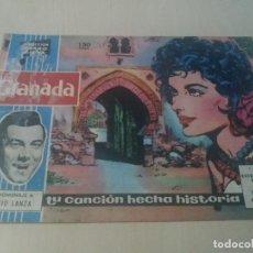 Tebeos: COLECCION CLARO DE LUNA ORIGINAL Nº 19 GRANADA. Lote 146218022