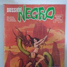 Tebeos: DOSSIER NEGRO Nº 77 1975 - PUIGAGUT - FÉLIX MAS - CÉSAR LÓPEZ - R.TORRENTS - BUENO -. Lote 146531622