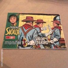 Tebeos: EL PEQUEÑO SIOUX: VALOR Y PELIGRO - IBERO MUNDIAL DE EDICIONES - 1962. Lote 147219914