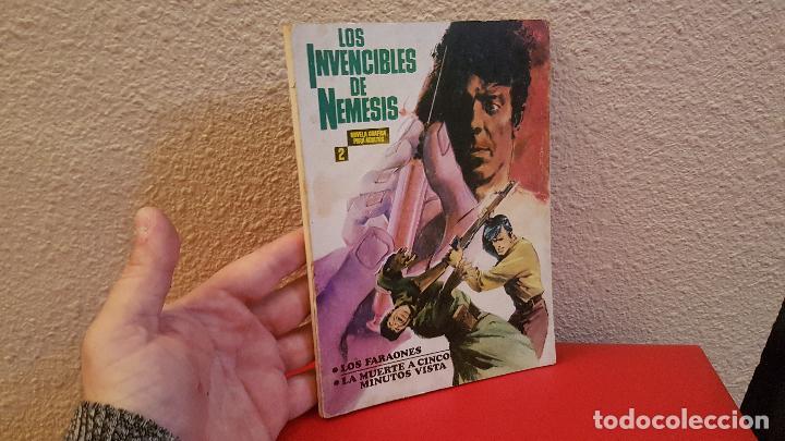 COMIC TACO IBERO MUNDIAL LOS INVENCIBLES DE NEMESIS Nº 2 LOS FARAONES (Tebeos y Comics - Ibero Mundial)