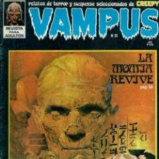 Tebeos: VAMPUS Nº 30 - LA MOMIA REVIVE - IBERO MUNDIAL AÑOS 70 - CORRECTO. Lote 147901418