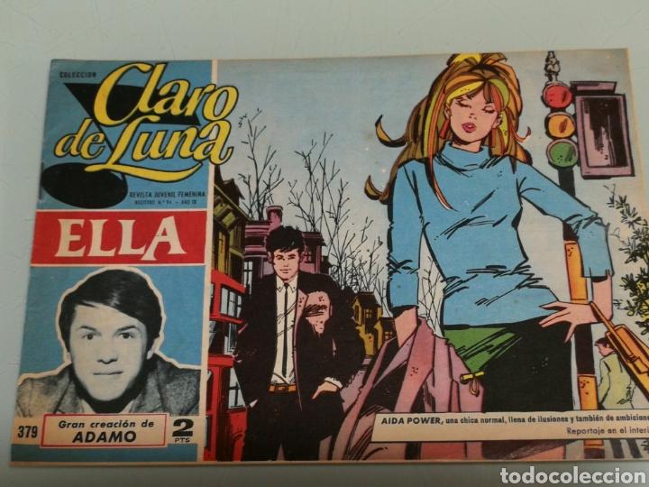 CLARO DE LUNA. ADAMO (Tebeos y Comics - Ibero Mundial)