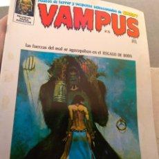 Tebeos: REVISTA VAMPUS N°25. Lote 152319926