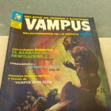 Tebeos: REVISTA VAMPUS N°9. Lote 152325790